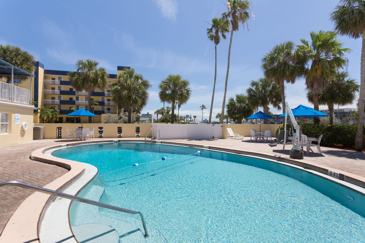 at the Days Inn Cocoa Beach Port Canaveral in Cocoa Beach, Florida