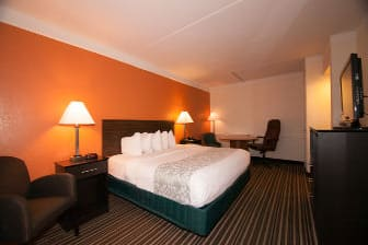 Guest room at the Days Inn Jacksonville Baymeadows in Jacksonville, Florida