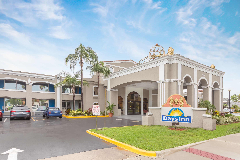 Orlando Florida Zip Code Map.Days Inn By Wyndham Orlando International Drive Orlando Fl Hotels