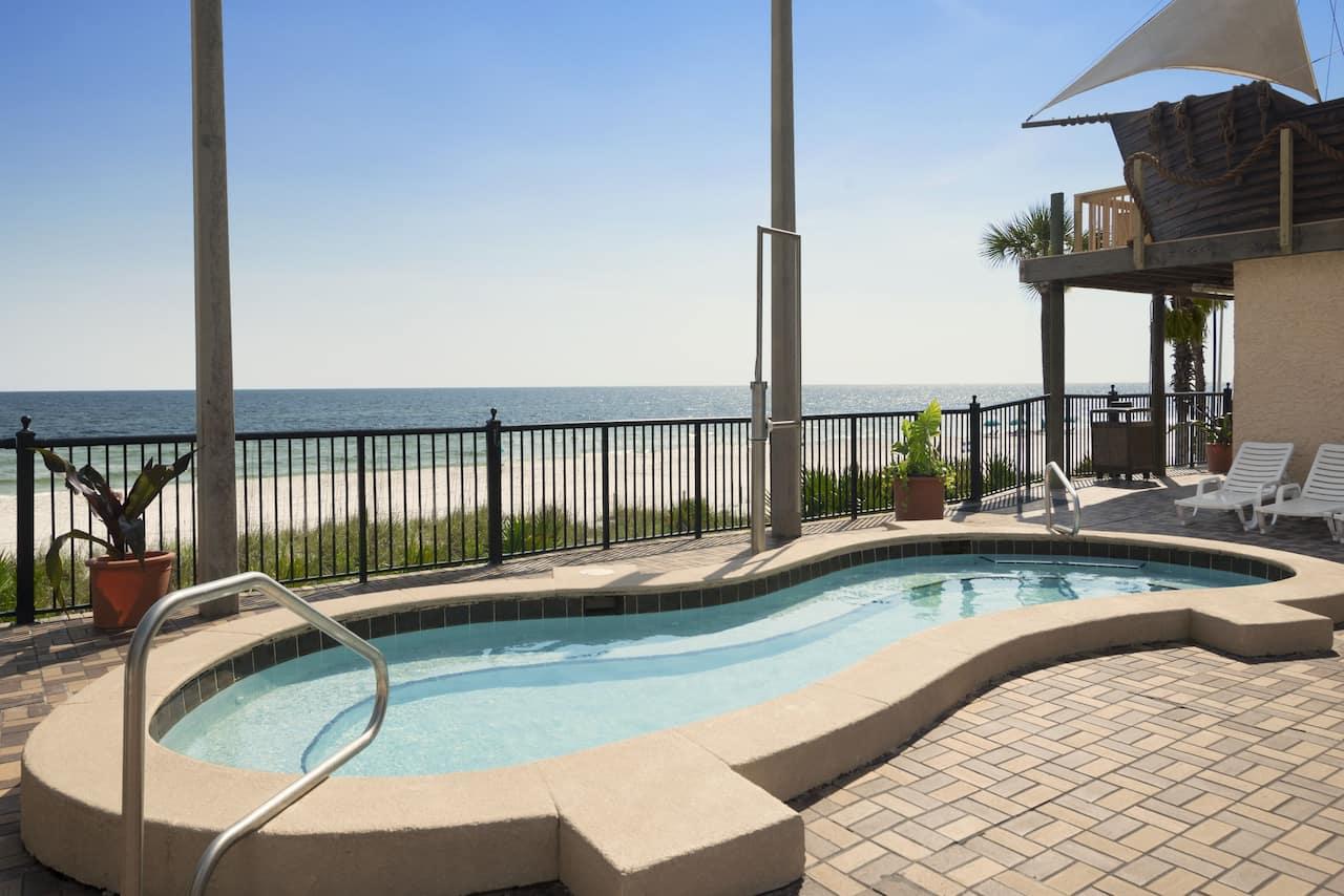 at the Days Inn Panama City Beach/Ocean Front in Panama City Beach, Florida