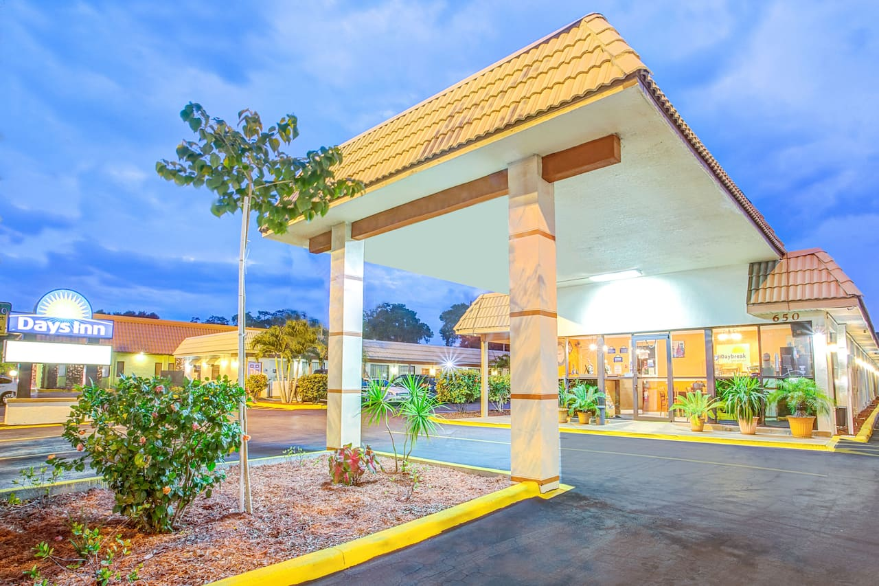 at the Days Inn St. Petersburg Central in Saint Petersburg, Florida