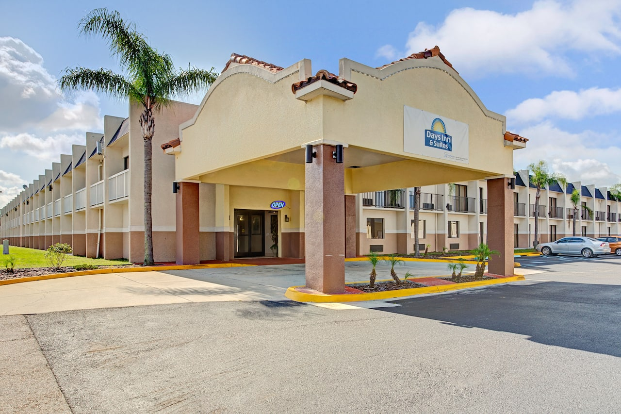 at the Days Inn & Suites Tampa near Ybor City/FL State Fair Grounds in Tampa, Florida