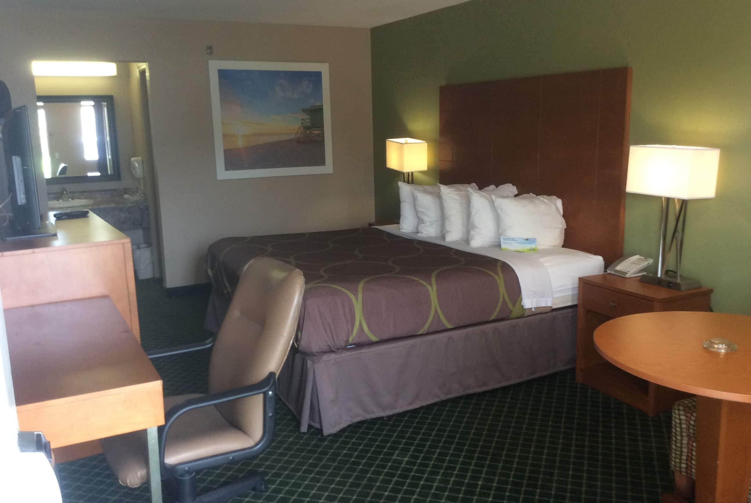 Guest room at the Days Inn by Wyndham Donalsonville in Donalsonville, Georgia