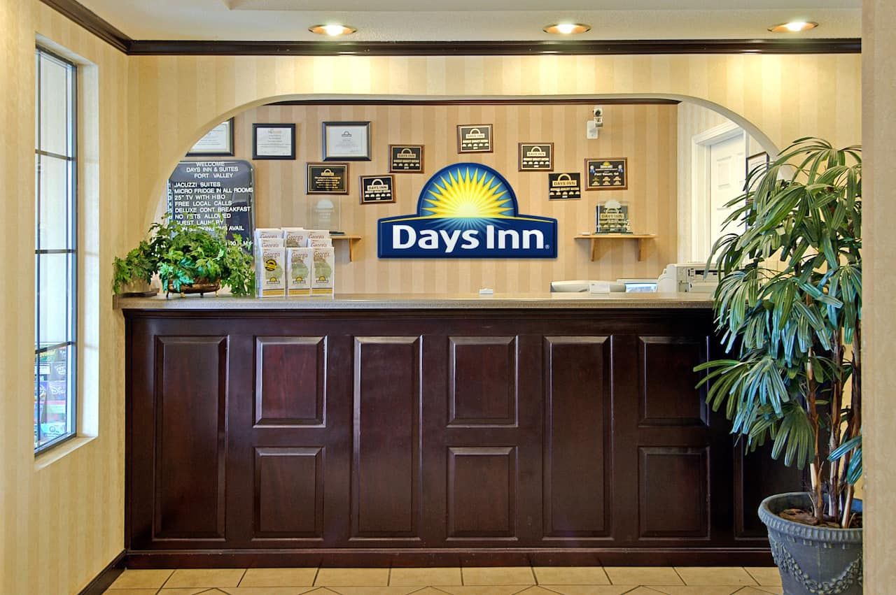 at the Days Inn and Suites Fort Valley in Fort Valley, Georgia