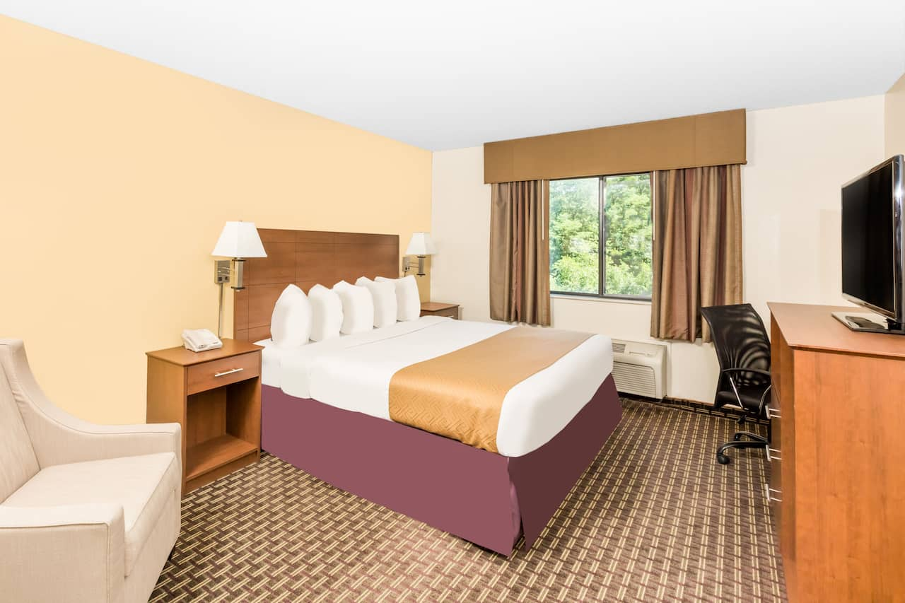 at the Days Inn Des Moines Merle Hay in Des Moines, Iowa