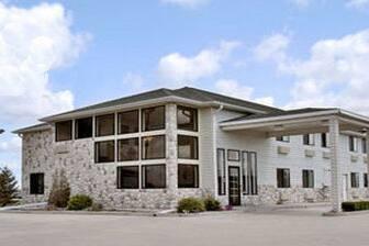 Exterior Of Days Inn Morton Hotel In Illinois