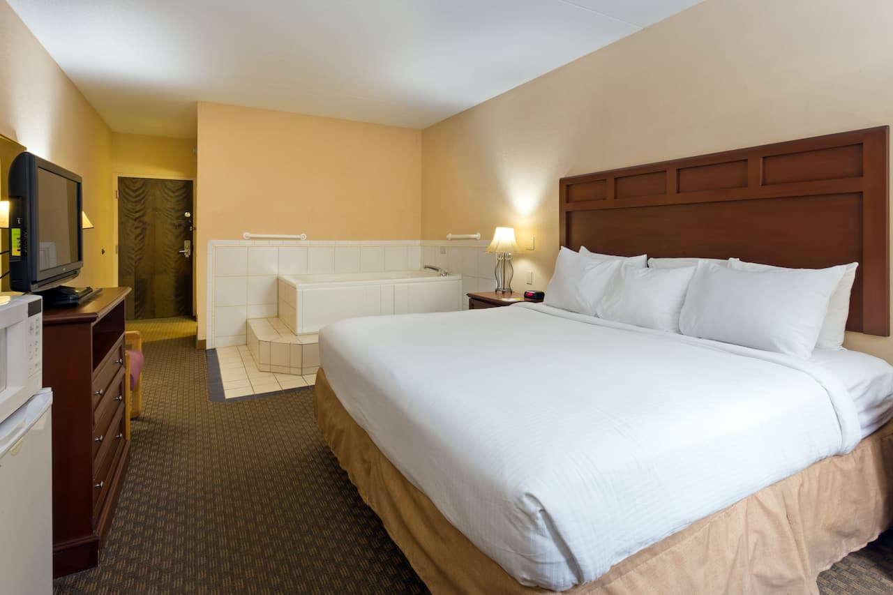 at the Days Inn & Suites Northwest Indianapolis in Indianapolis, Indiana