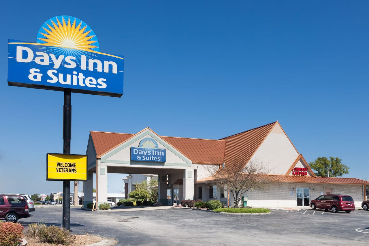 at the Days Inn & Suites Kokomo in Kokomo, Indiana