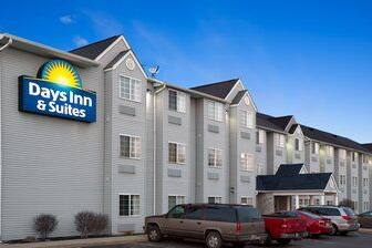 Exterior Of Days Inn Suites Lafayette In Hotel Indiana