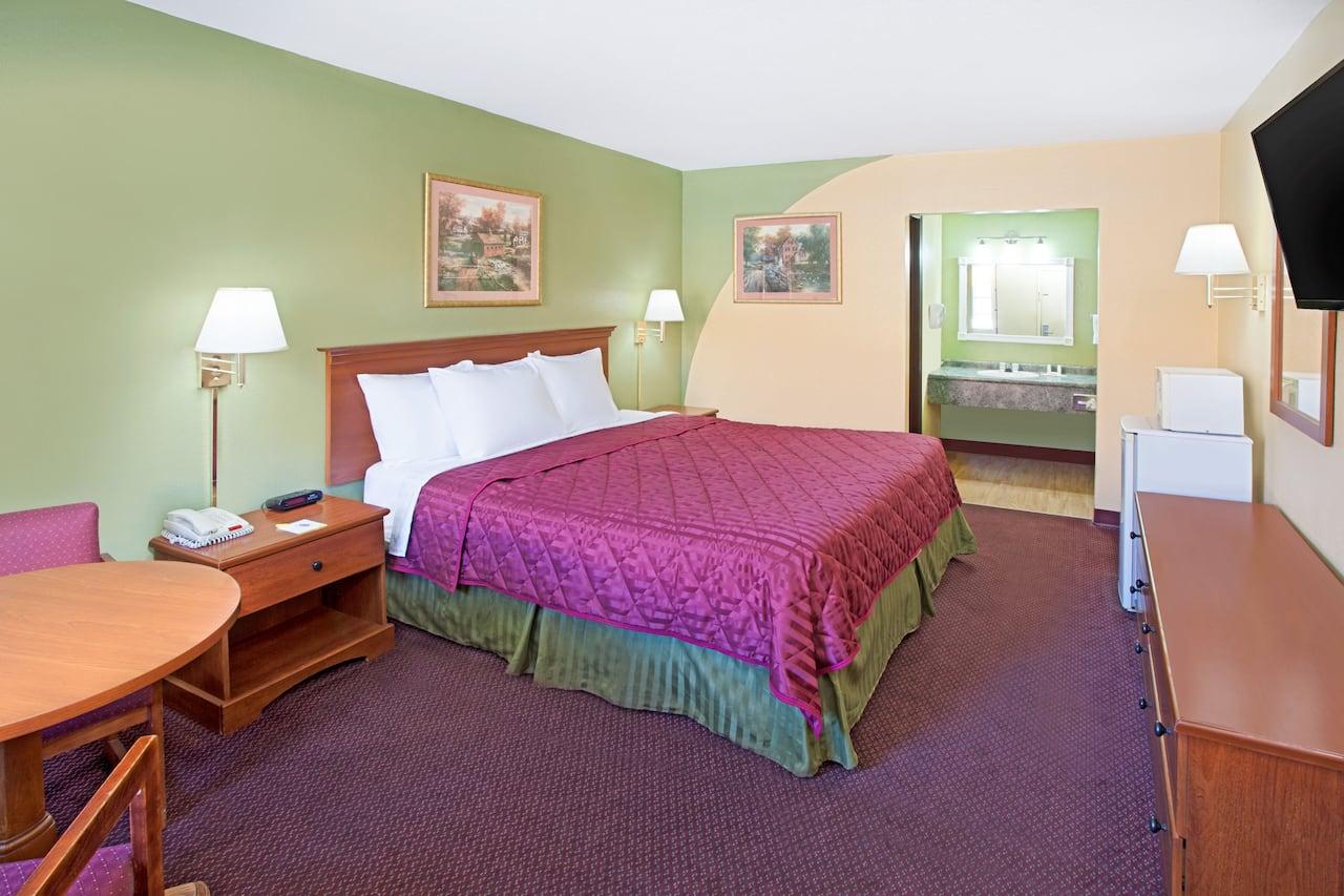 at the Days Inn & Suites Terre Haute in Terre Haute, Indiana