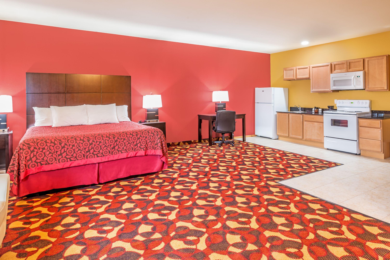 Guest room at the Days Inn and Suites El Dorado in El Dorado, Kansas