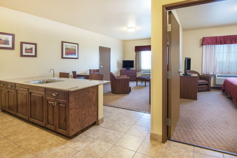 Guest room at the Days Inn Ellis in Ellis, Kansas