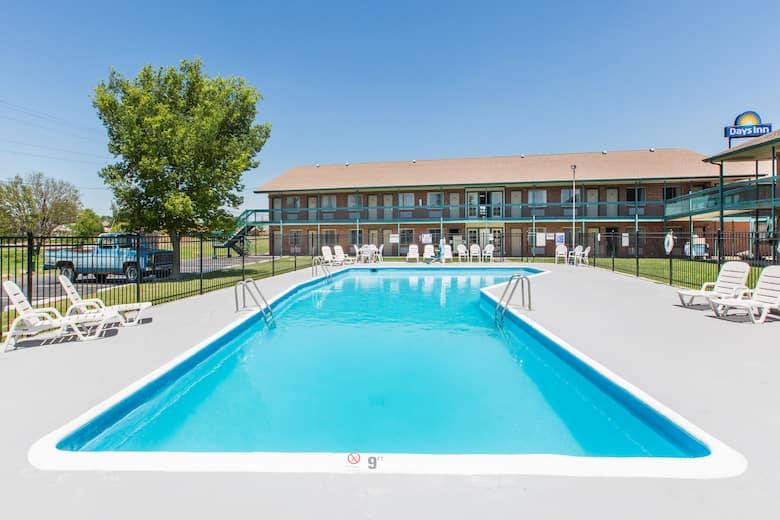 Pool At The Days Inn Hays In Kansas