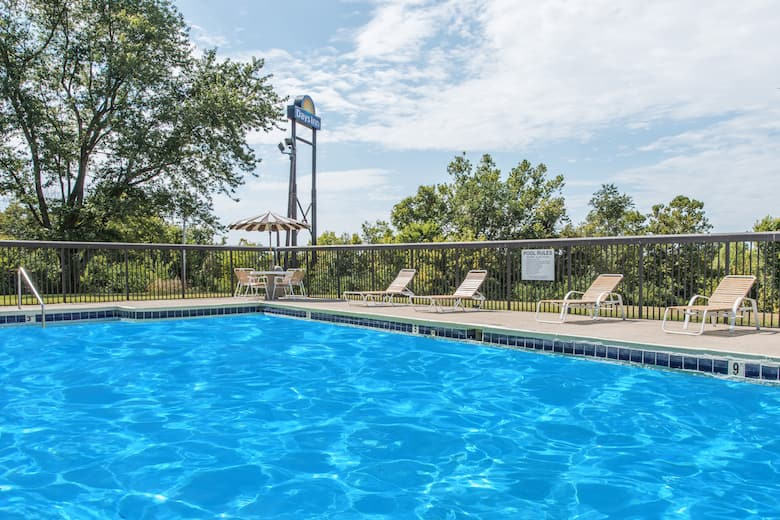 Pool At The Days Inn By Wyndham Georgetown North Of Lexington In Kentucky