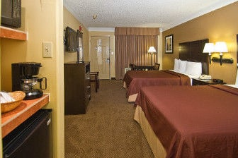 Guest room at the Days Inn Gonzales in Gonzales, Louisiana