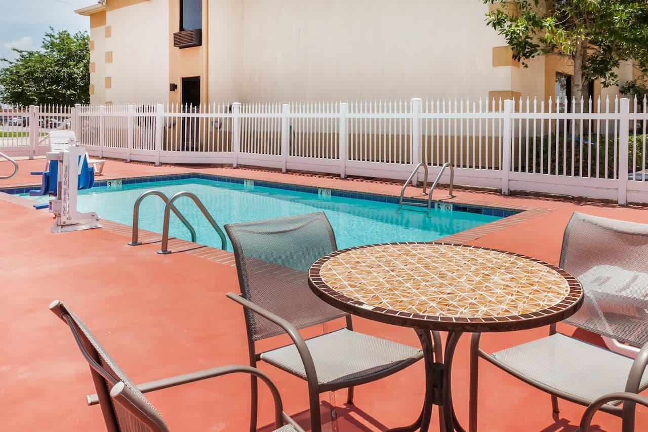 at the Days Inn & Suites New Iberia in New Iberia, Louisiana