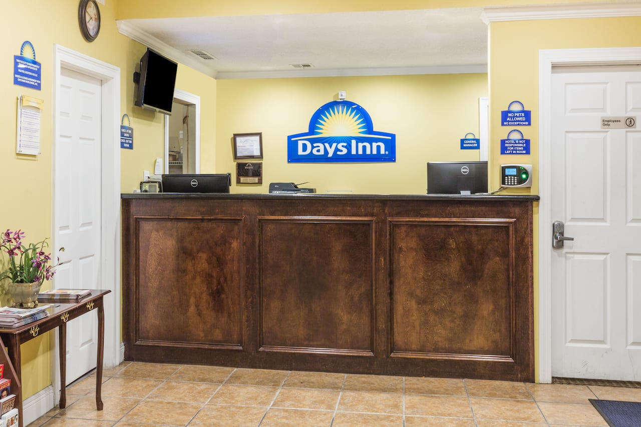 at the Days Inn New Orleans in New Orleans, Louisiana
