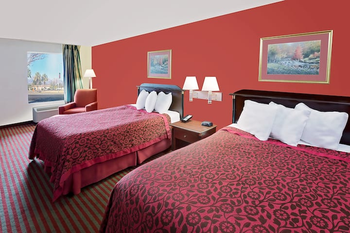 Guest room at the Days Inn & Suites Opelousas in Opelousas, Louisiana