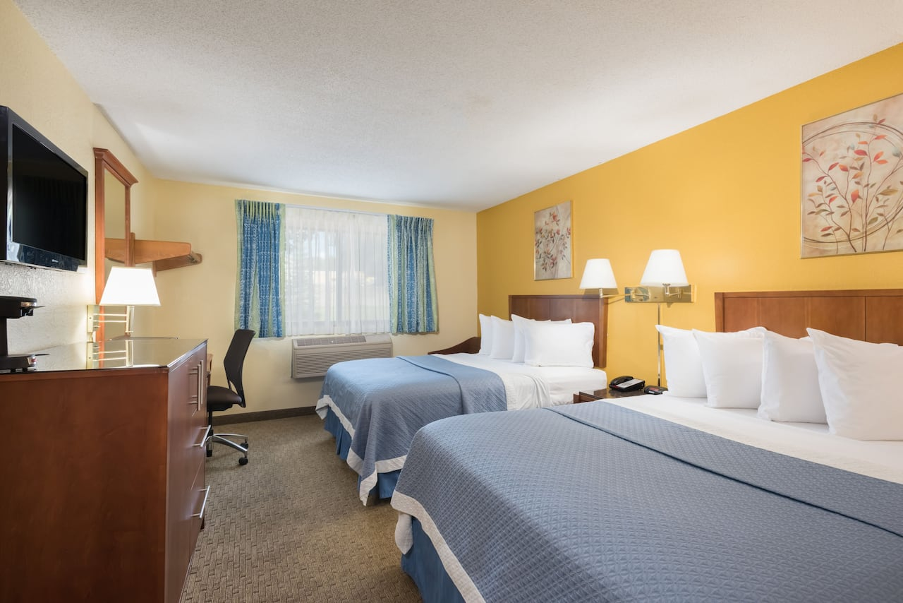 at the Days Inn Greenfield in Greenfield, Massachusetts