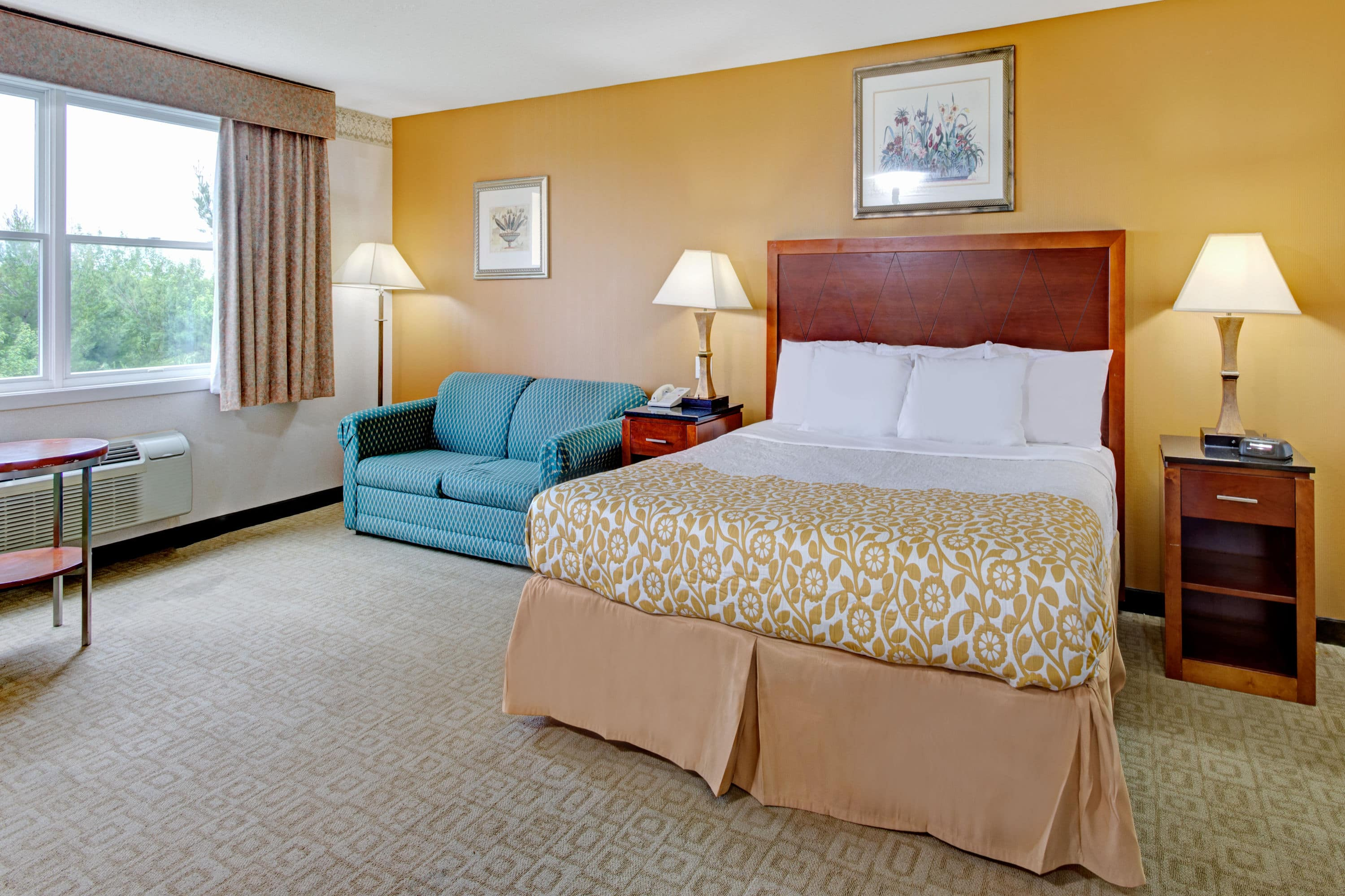 Guest room at the Days Hotel & Conference Center - Methuen MA in Methuen, Massachusetts