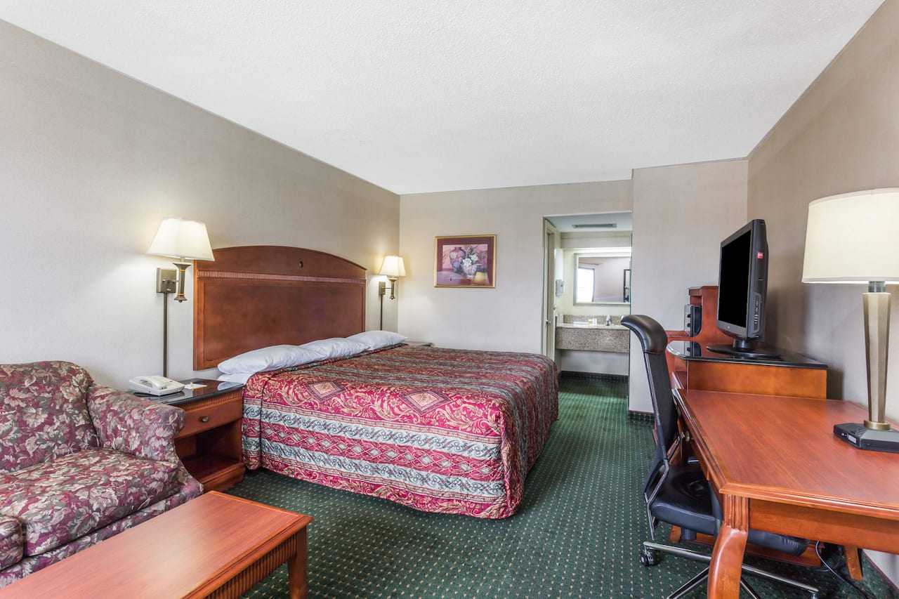 at the Days Inn Camp Springs Andrews AFB in Camp Springs, Maryland