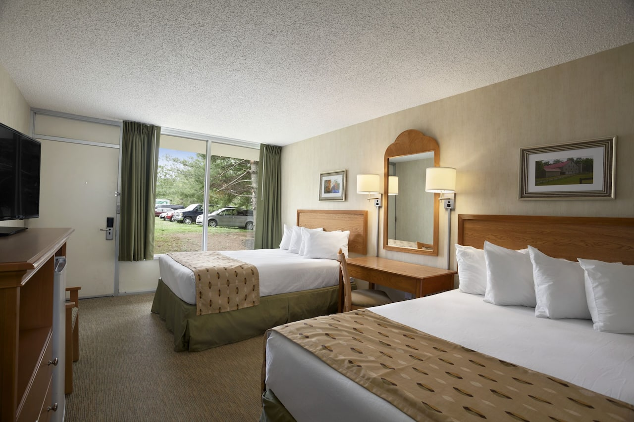 at the Days Inn Frederick in Frederick, Maryland