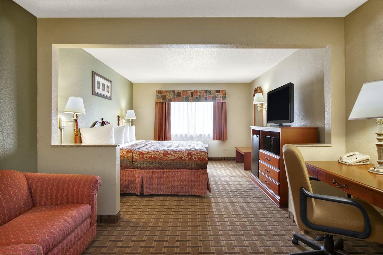 at the Days Inn & Suites Benton Harbor MI in Benton Harbor, Michigan