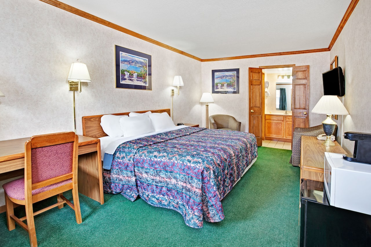 at the Days Inn Canton in Canton, Michigan