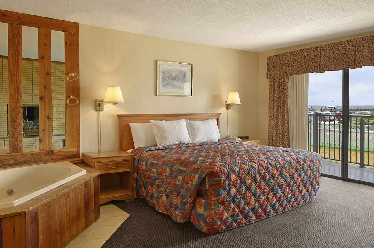 at the Days Inn Mackinaw City - Lakeview in Mackinaw City, Michigan