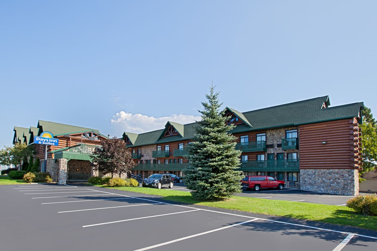 at the Days Inn & Suites-Mackinaw City-Bridgeview Lodge in Mackinaw City, Michigan