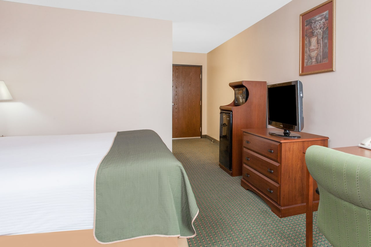 at the Days Inn & Suites Mt Pleasant in Mount Pleasant, Michigan