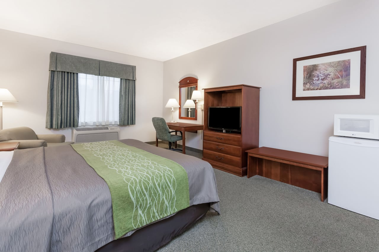 at the Days Inn Pentwater in Pentwater, Michigan
