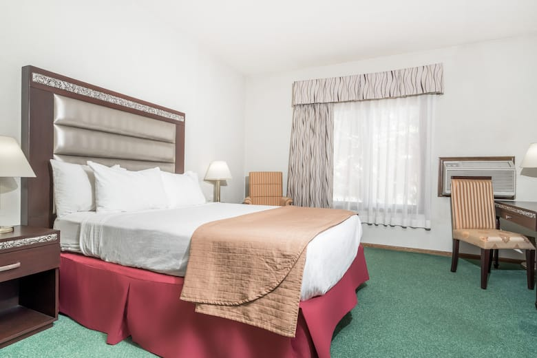 Guest Room At The Days Inn By Wyndham Hutchinson In Minnesota