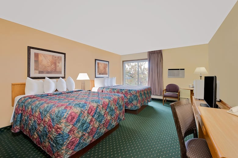 Guest Room At The Days Inn By Wyndham International Falls In Minnesota