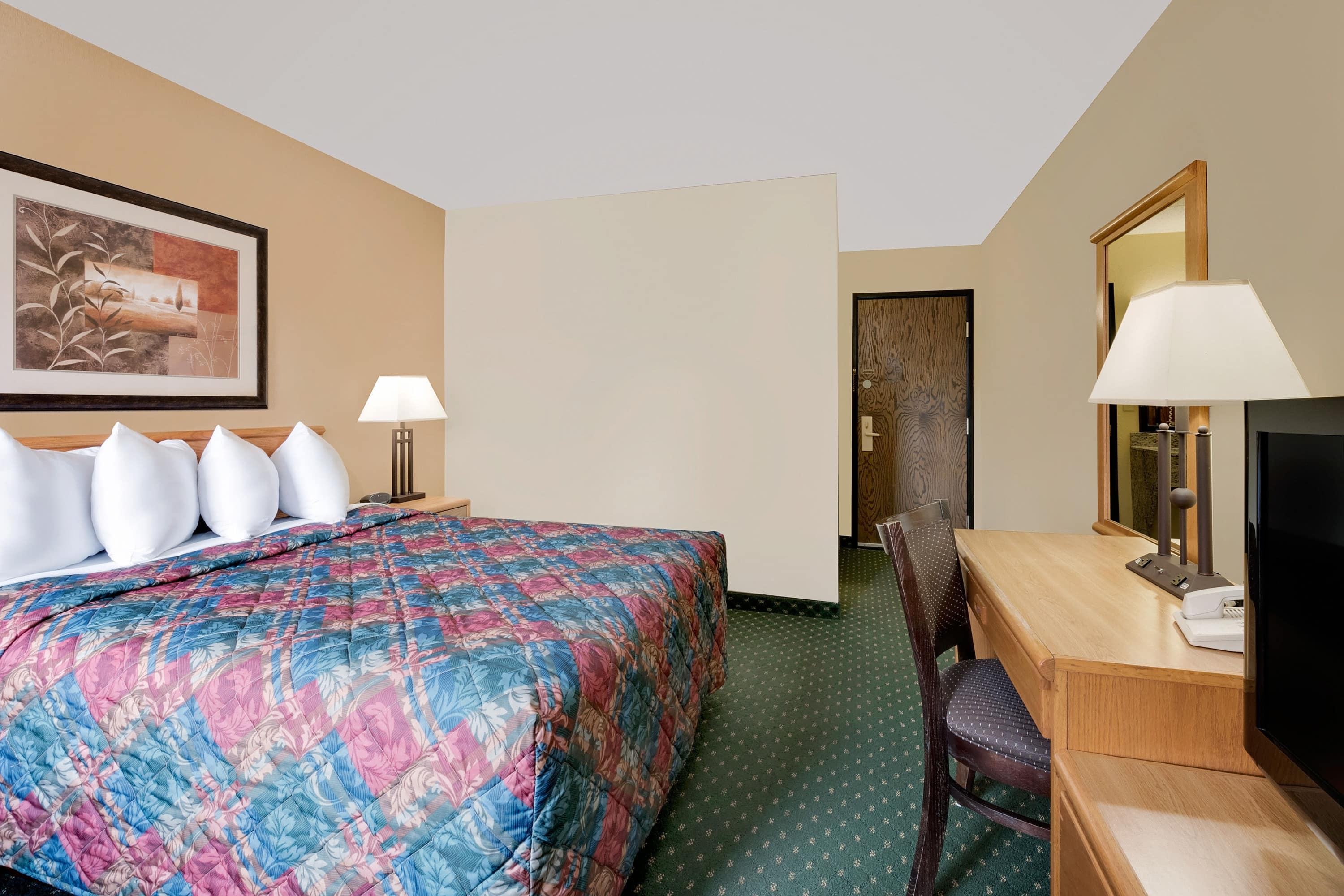 Guest room at the Days Inn International Falls in International Falls, Minnesota