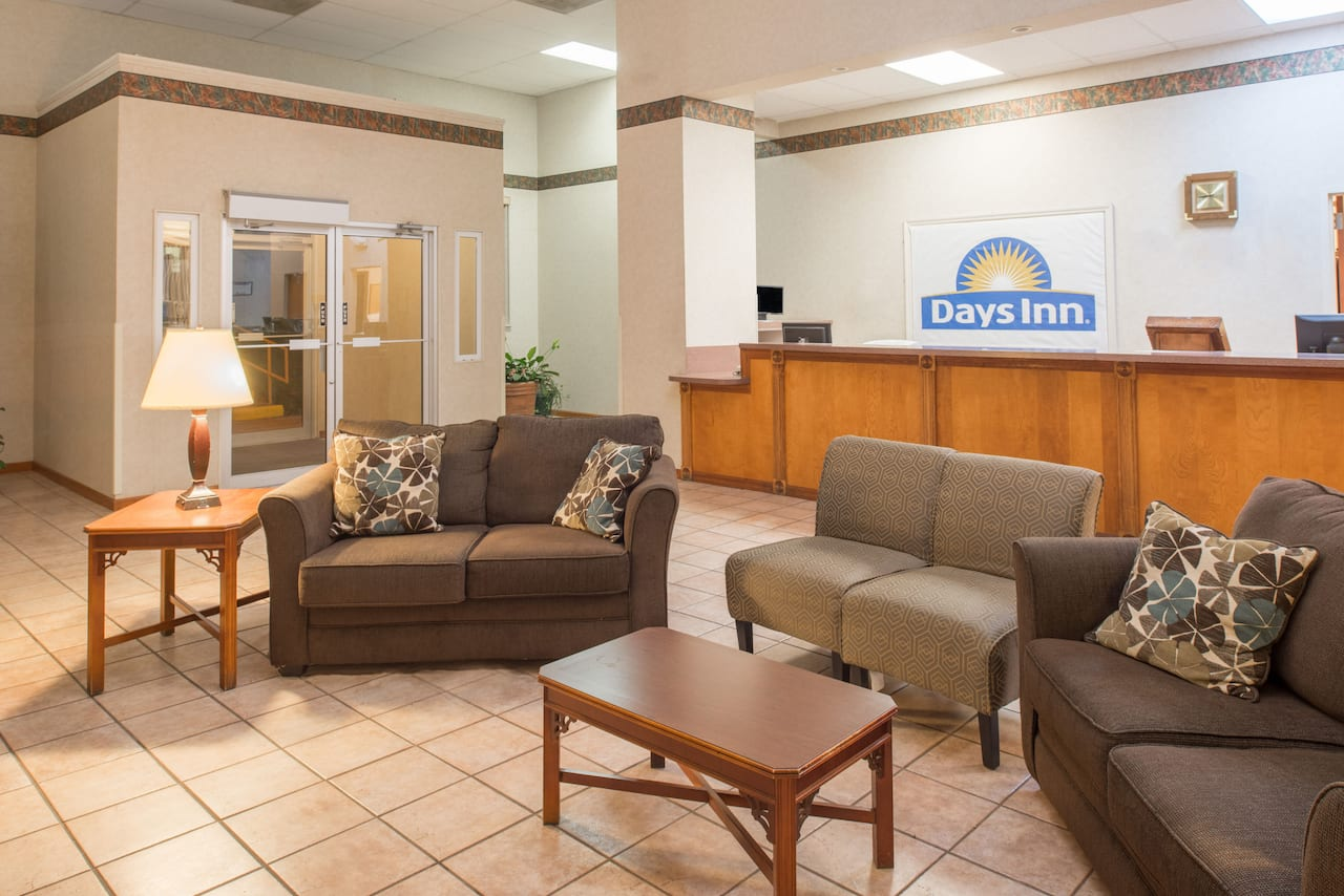 at the Days Inn St. Louis North in Hazelwood, Missouri