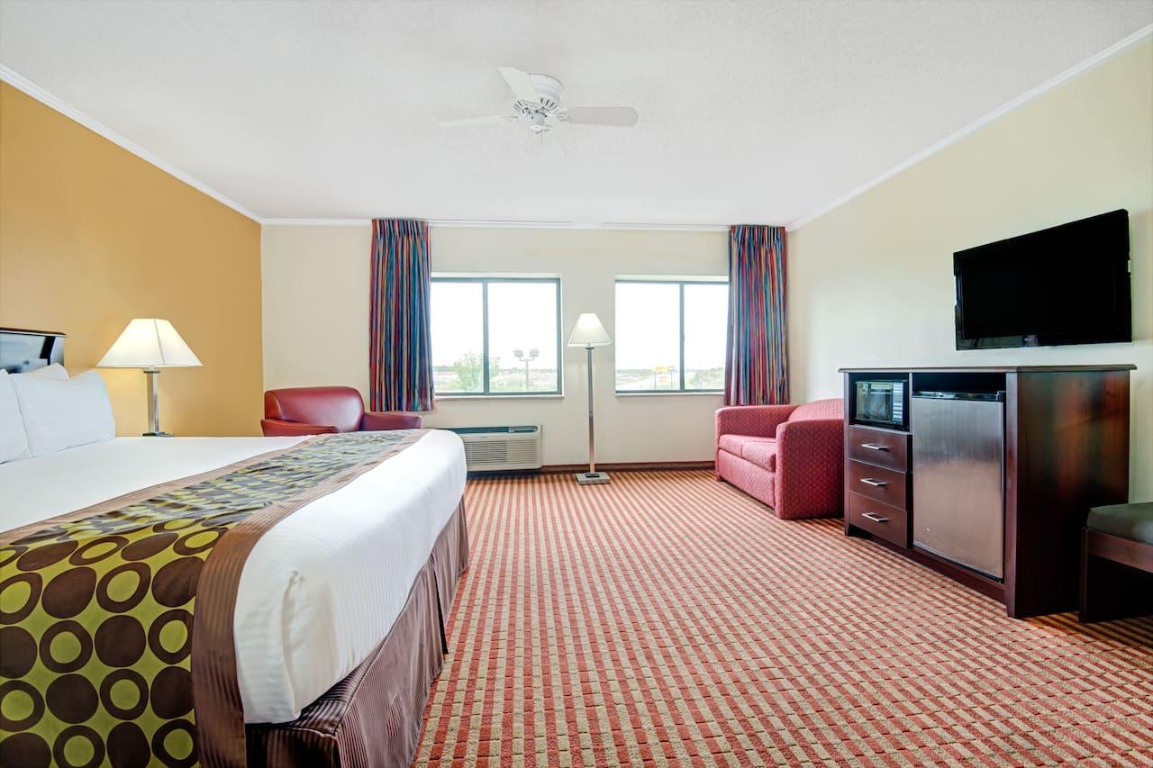 at the Days Inn & Suites Kansas City South in Kansas City, Missouri