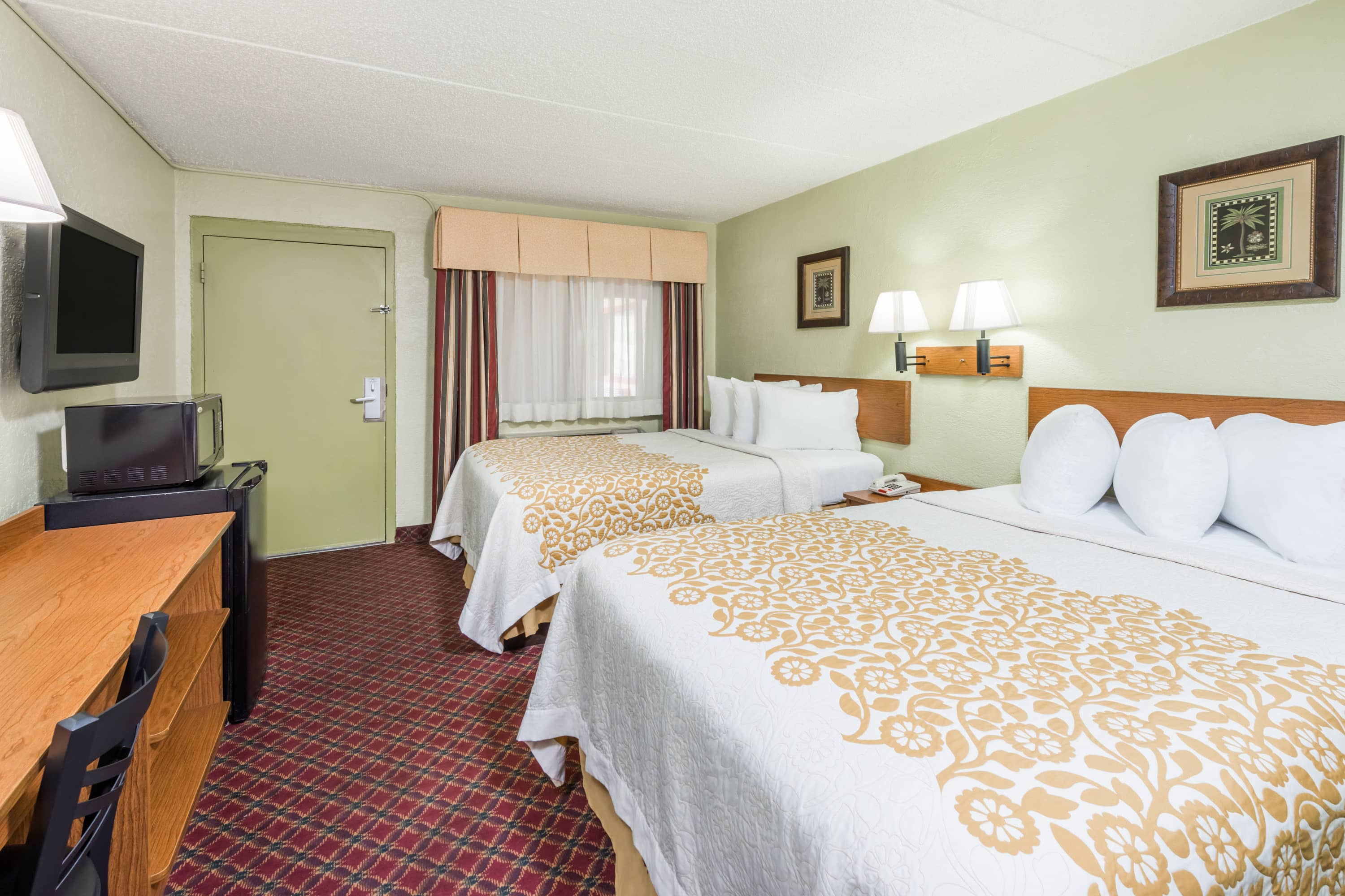 Guest room at the Days Inn & Suites Springfield on I-44 in Springfield, Missouri