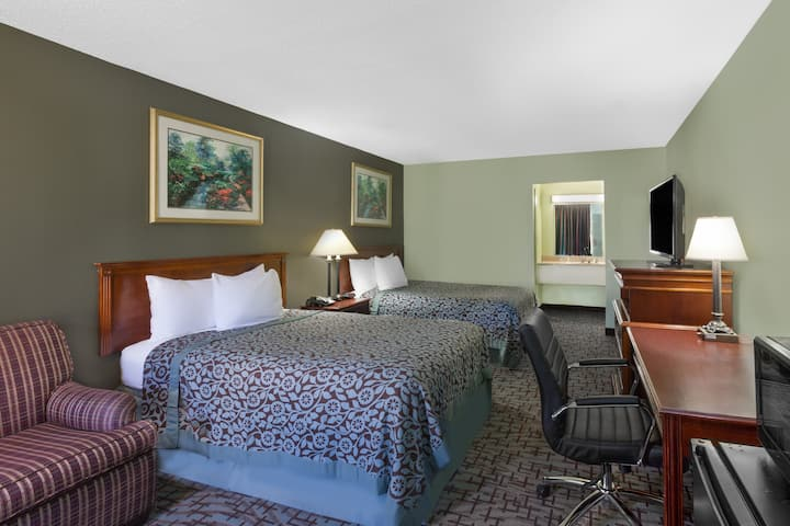 Guest room at the Days Inn McComb MS in McComb, Mississippi
