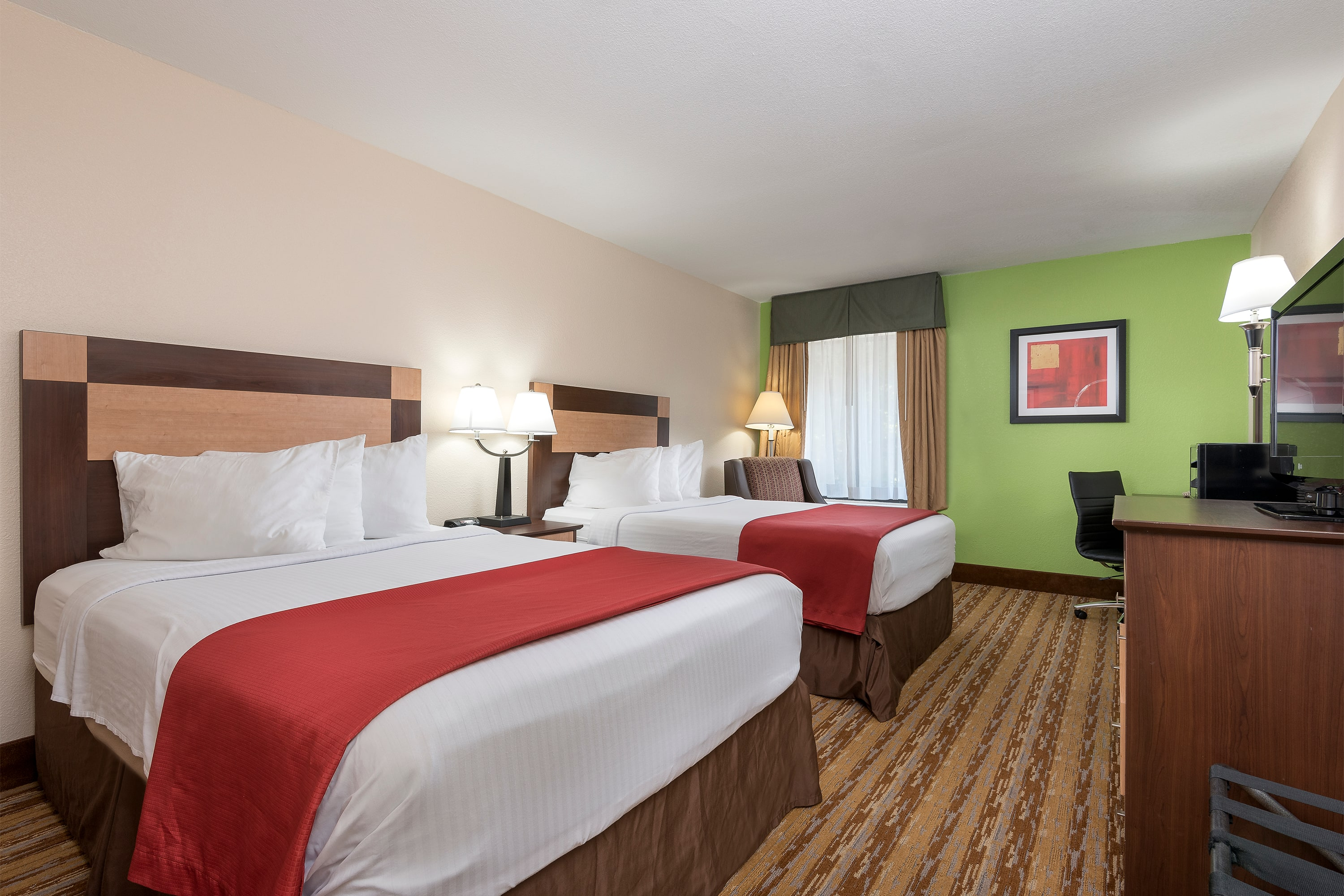 Guest room at the Days Inn Asheville/Tunnel Road & I-40 in Asheville, North Carolina