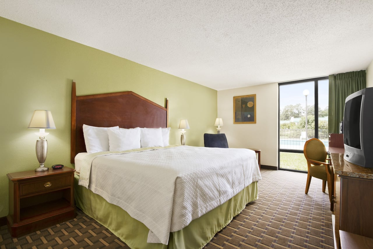 at the Days Inn Fayetteville-South/I-95 Exit 49 in Fayetteville, North Carolina