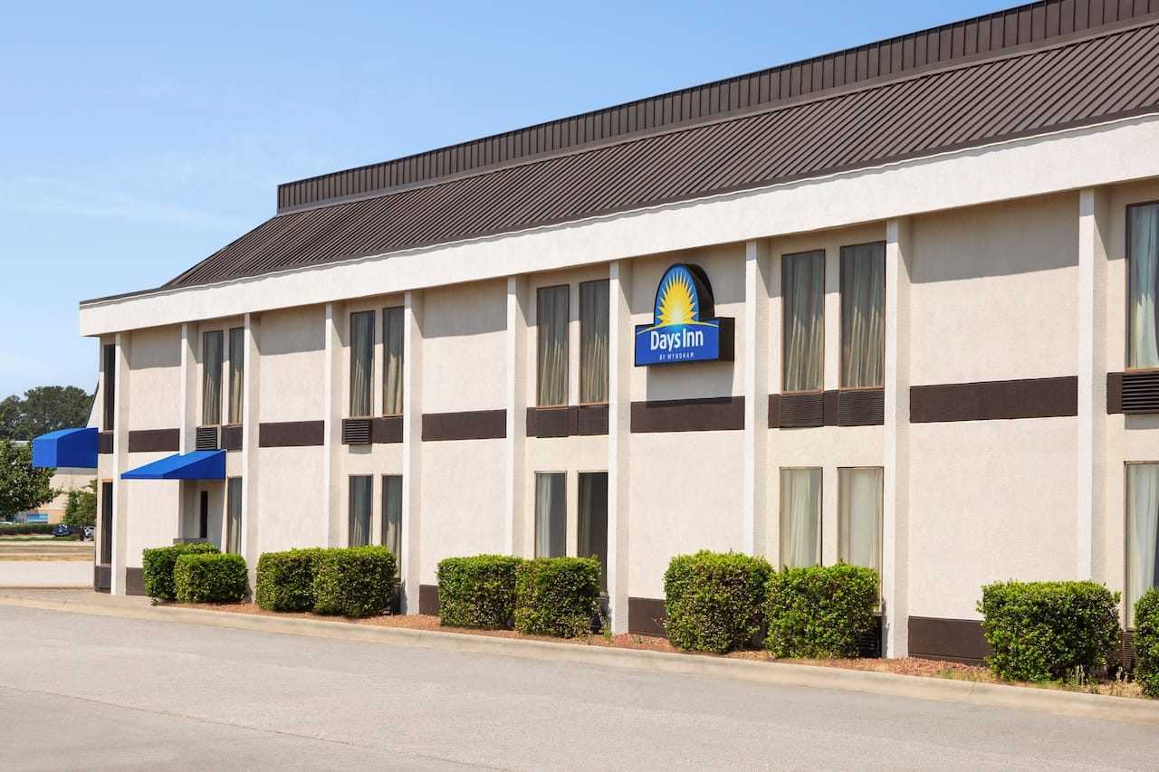 at the Days Inn & Suites Fayetteville Northwest Fort Bragg Area in Fayetteville, North Carolina