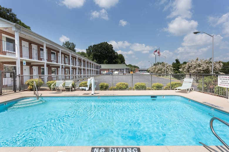 Pool At The Days Inn By Wyndham Jonesville In North Carolina