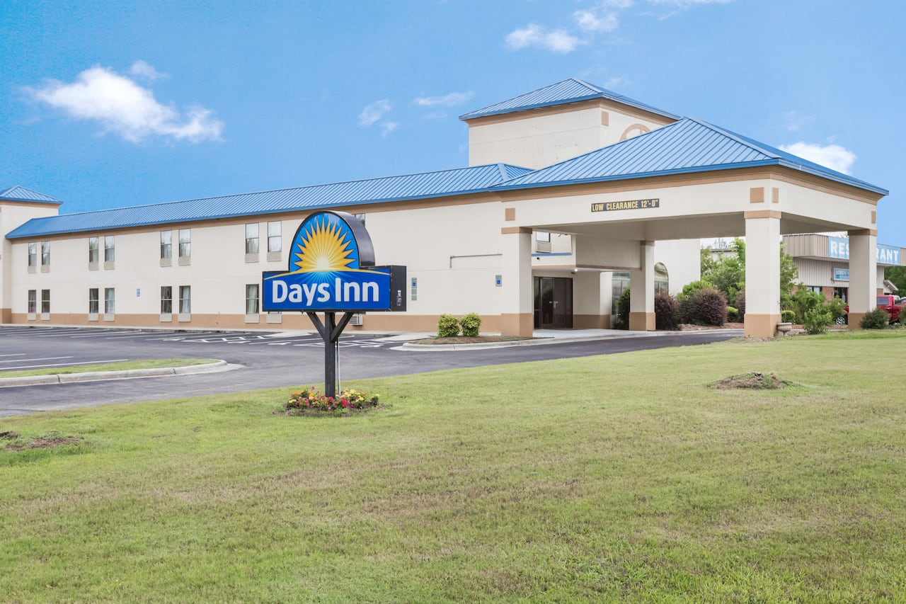 at the Days Inn Selma in Selma, North Carolina