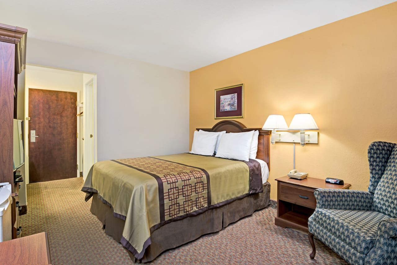 at the Days Inn & Suites Siler City in Siler City, North Carolina