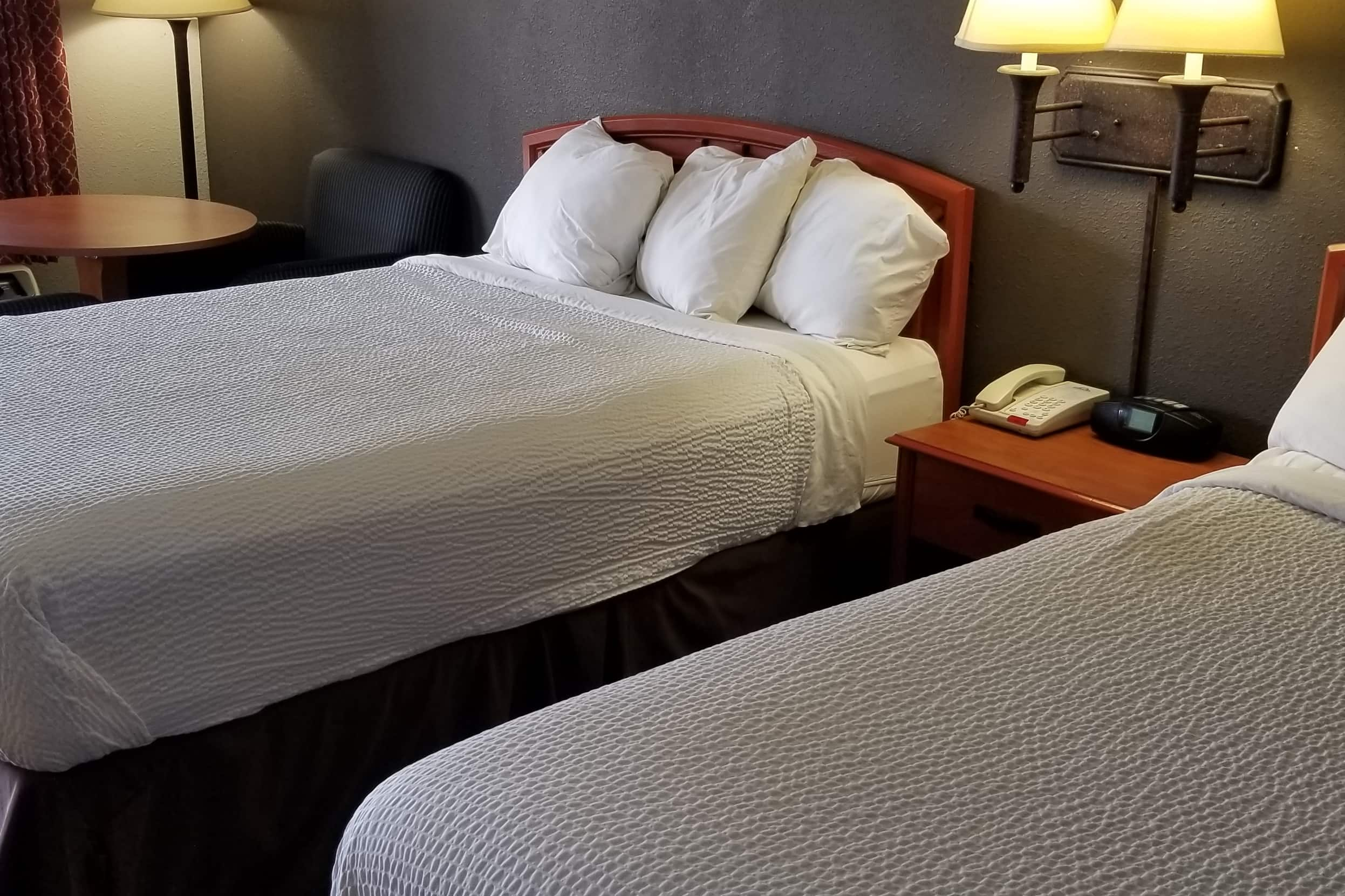 Guest room at the Days Inn Wilson in Wilson, North Carolina