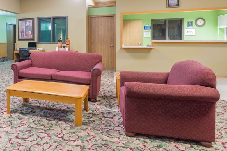 Days Inn Mccook Hotel Lobby In Nebraska