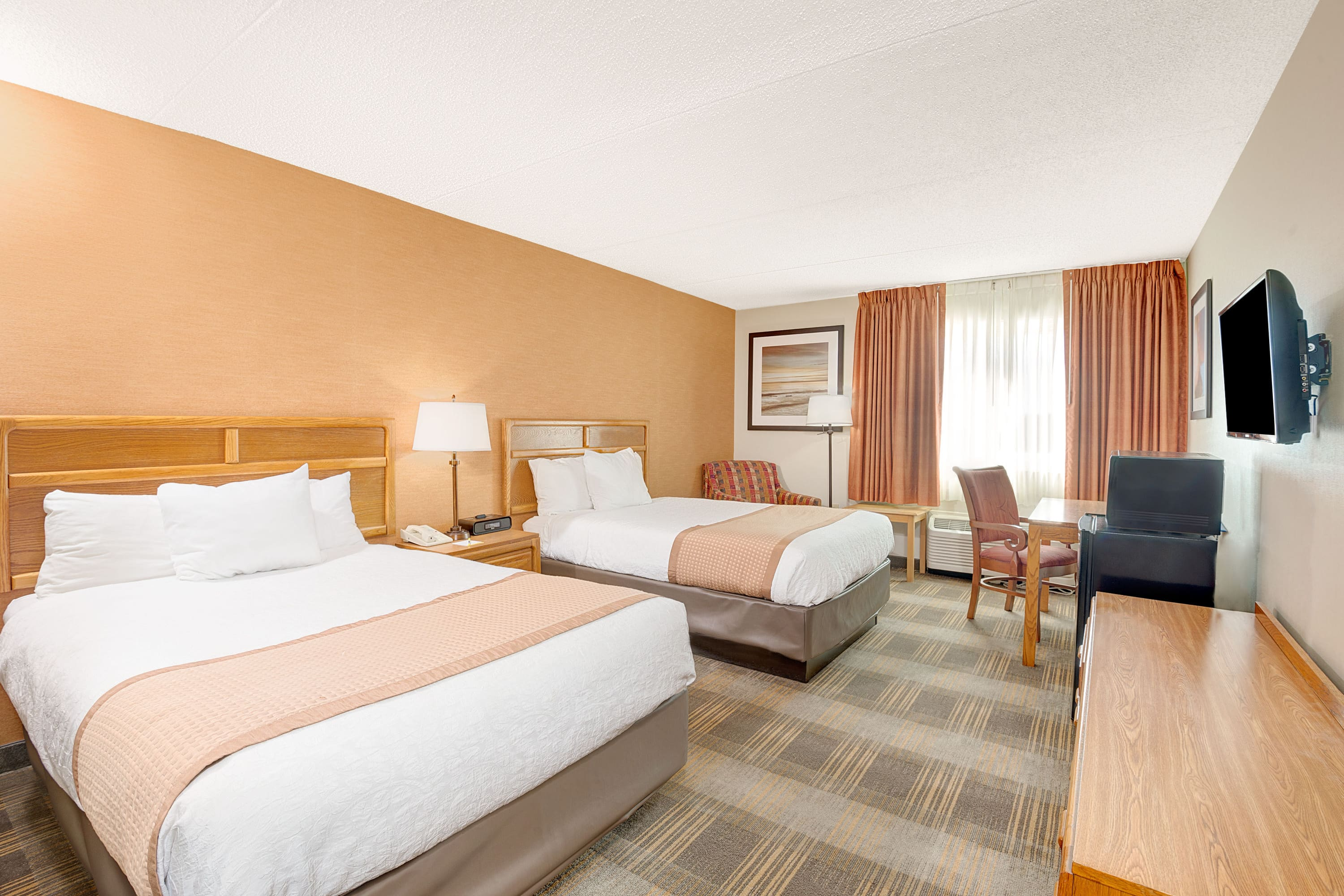 Guest room at the Days Hotel Egg Harbor Township-Pleasantville-Atlantic City in Egg Harbor Township, New Jersey
