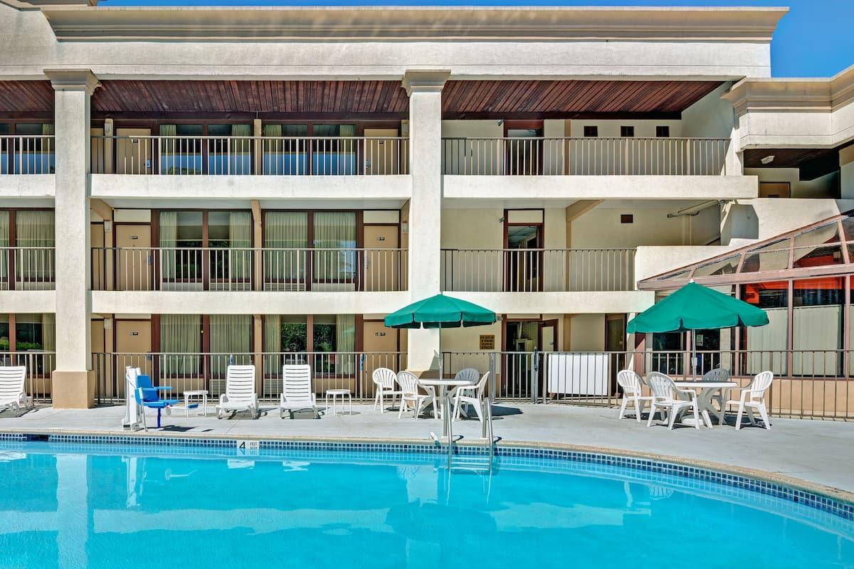 Pool At The Days Inn By Wyndham Absecon Atlantic City In Galloway New Jersey