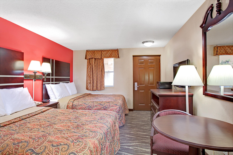 Guest room at the Days Inn Ridgefield NJ in Ridgefield, New Jersey